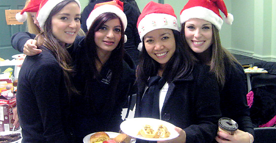 Toronto College of Dental Hygiene Holiday event 2