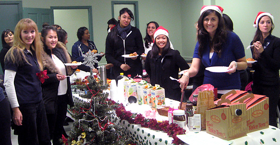 Toronto College of Dental Hygiene Holiday event 3